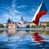 Прага столица чехии Стоковая Фотография