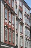Прага - фасад барочных зданий Стоковые Фотографии RF