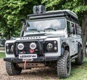 Прага, чехия - 16/5/2019 защитников Land Rover стоковые изображения
