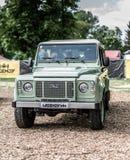 Прага, чехия - 16/5/2019 защитников Land Rover стоковая фотография