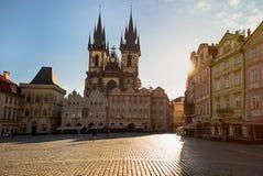 Прага, Чешская Республика Старый городок, Staromestska Стоковые Изображения RF