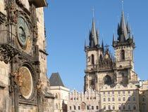 Прага (ЮНЕСКО) Стоковые Фотографии RF