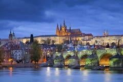 Прага. Стоковые Изображения