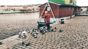 Прага Naplavka стоковое фото