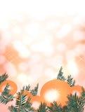 Праздненство рождества и с новым годом иллюстрация штока