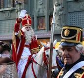 празднество Голландия santa claus стоковые фотографии rf