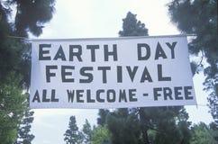 Празднество дня земли Стоковое Изображение