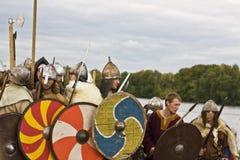 празднество исторические vikings шлюпки Стоковая Фотография RF