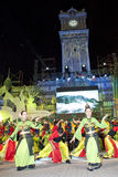 празднество Малайзия 2010 цветов Стоковая Фотография RF