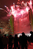 празднество освещает toronto Стоковые Изображения RF