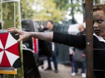 Празднество 2012 комиксов Lucca, Тоскана, Италия Стоковое фото RF