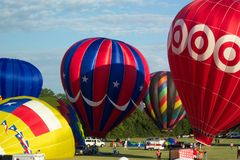 празднество 3376 воздушных шаров Стоковая Фотография RF