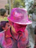 Празднество Holi стоковые изображения