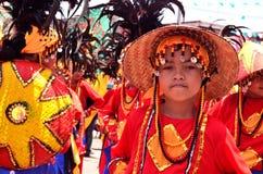 Празднество Kadayawan, город Davao стоковое фото