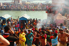 Празднество Makar Sankranti огромное вероисповедное Стоковое Изображение RF