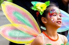 Празднество Panagbenga, город Baguio Стоковые Изображения