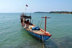Праздники в Камбодже красивый вид от пляжа Внушительный мир перемещения Остатки лета стоковые изображения