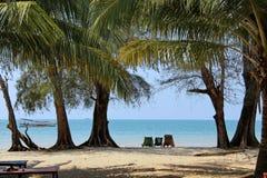 Праздники в Камбодже красивый вид от пляжа Внушительный мир перемещения Остатки лета стоковые фото