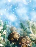 Праздники предпосылка рождества и Нового Года, сезон зимы стоковое изображение rf