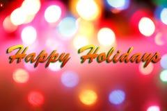 праздники предпосылки счастливые Стоковая Фотография RF