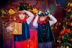 Праздники рождества зимы Стоковые Изображения