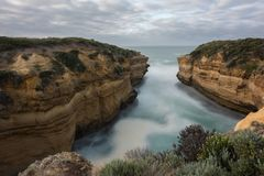 Праздник в Австралии - национальный парк Campbell порта национальный парк Стоковое Изображение