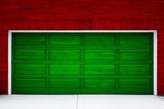 праздник гаража двери Стоковое Изображение