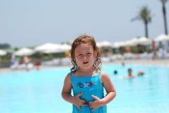 праздник девушки пляжа Стоковое фото RF