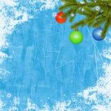 праздник карточки предпосылки голубой Стоковое Фото