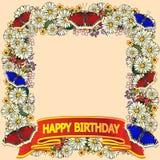 праздник карточки счастливый иллюстрация штока