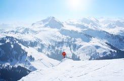 Праздник лыжи спорта зимы Стоковое Фото