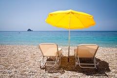 Праздник на пляже Стоковые Фото
