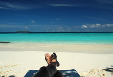 праздник пляжа Стоковые Фото