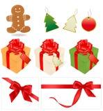праздник подарков элементов Стоковые Фотографии RF