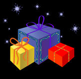 праздник подарков Стоковые Фото