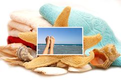 праздник принципиальной схемы пляжа Стоковое Изображение RF