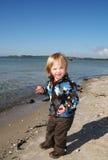 праздник ребенка пляжа Стоковое фото RF