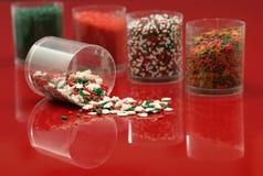 праздник украшений печенья Стоковое фото RF