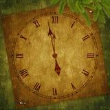 праздник часов карточки Стоковая Фотография