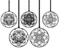 праздник шариков Стоковое Фото