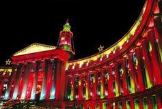 праздник denver здания суда Стоковые Изображения RF