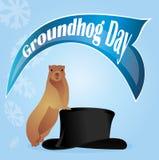 праздник groundhog дня Стоковые Изображения