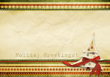 праздник s приветствию карточки Стоковое Изображение