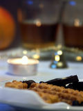 праздничная еда Стоковое Изображение RF