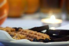 праздничная еда Стоковая Фотография RF