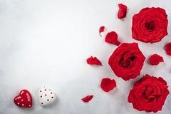 Праздничная концепция на день Святого Валентина стоковые фотографии rf