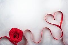 Праздничная концепция на день Святого Валентина стоковые изображения rf
