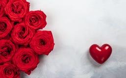 Праздничная концепция на день Святого Валентина стоковая фотография rf
