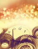 Праздничная принципиальная схема времени Стоковая Фотография