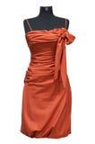 Праздничное женское платье Стоковая Фотография RF